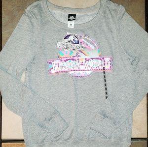 New Jurassic World Sweatshirt Medium NWT